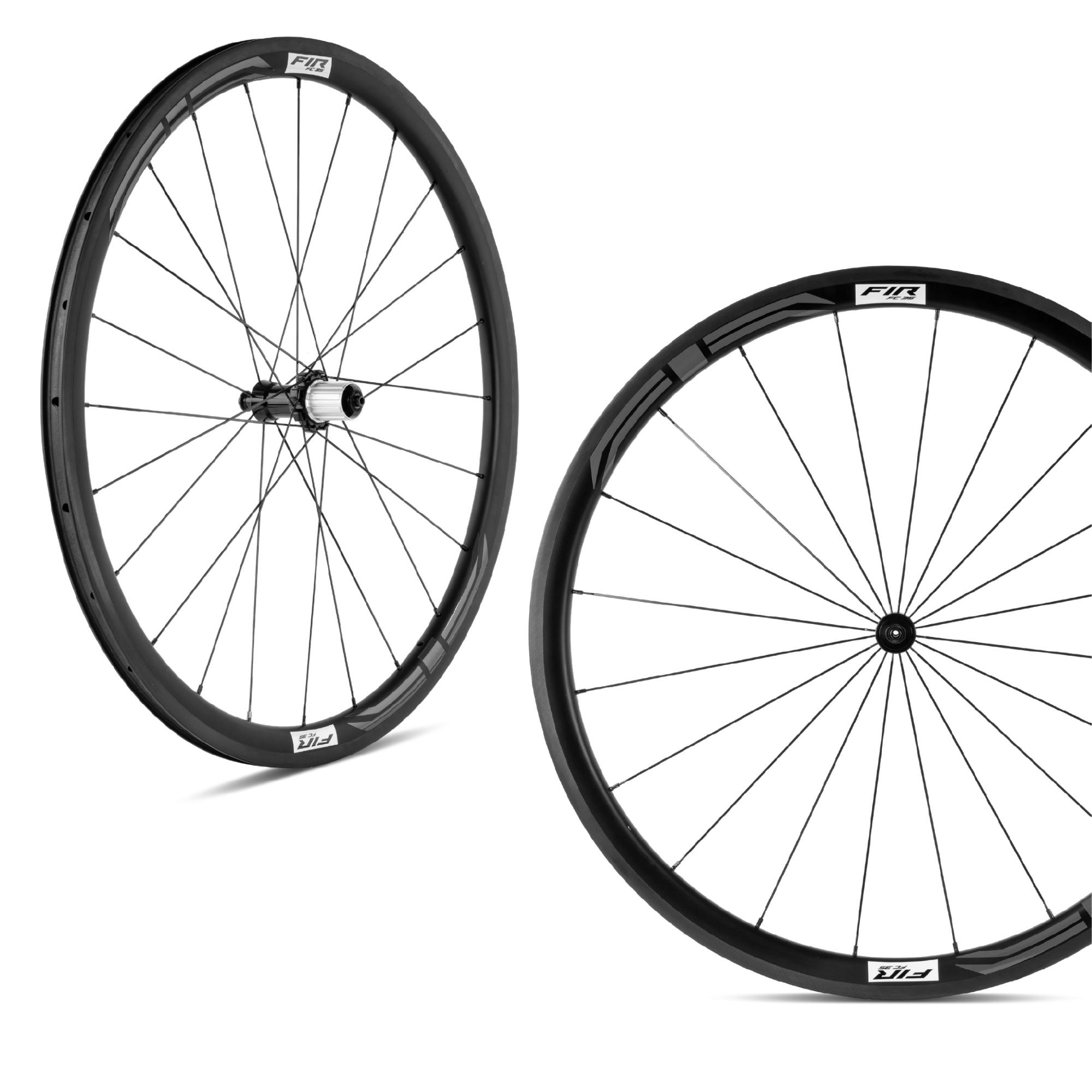 FC 55 ruota carbonio profilo 55